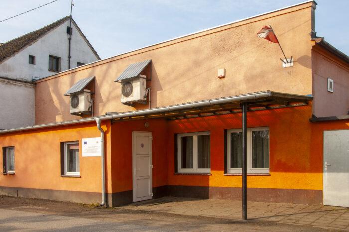 Budynek świetlicy w Borowem