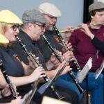 4 Klarnecistów i 2 flecistów podczas występu