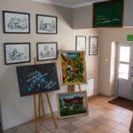 Wystawa prac malarskich